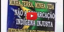 Embedded thumbnail for Produtores de MS protestam contra Funai - SBT