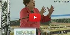 Embedded thumbnail for Dilma enfrenta protesto de agricultores no MS - Globo Rural