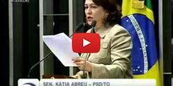 Embedded thumbnail for Depoimento da senadora Katia Abreu - Ações da Funai